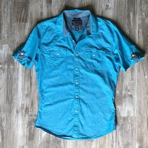 Other - Slim Fit Short-sleeve Button-Down